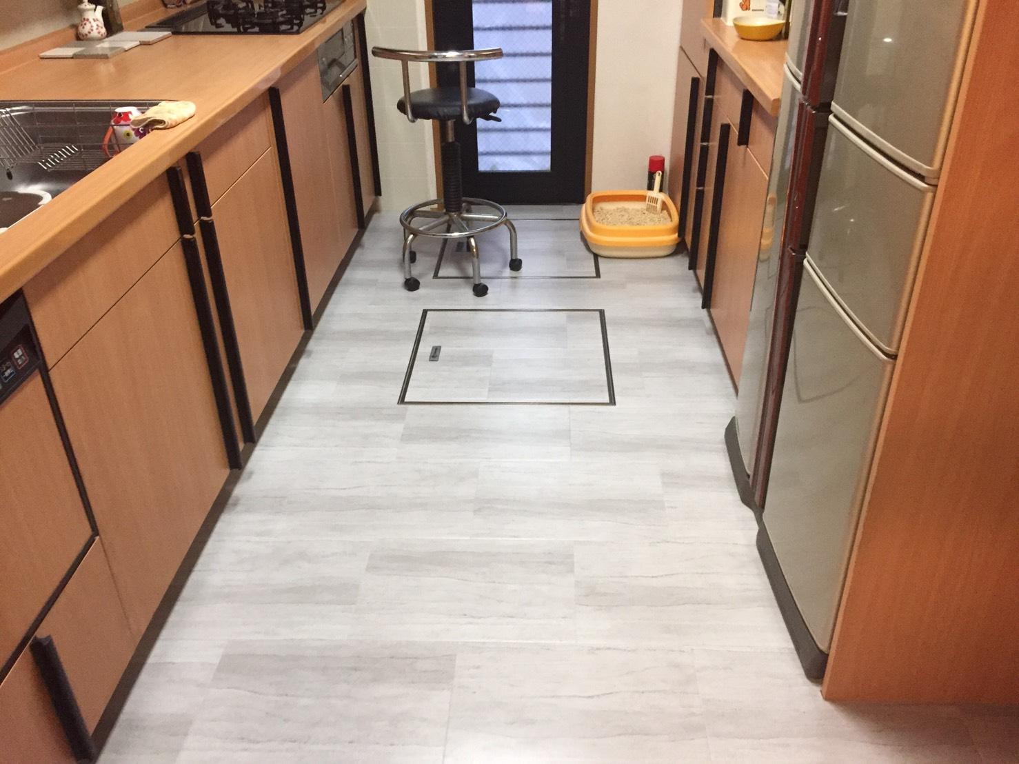 床貼り増し工事