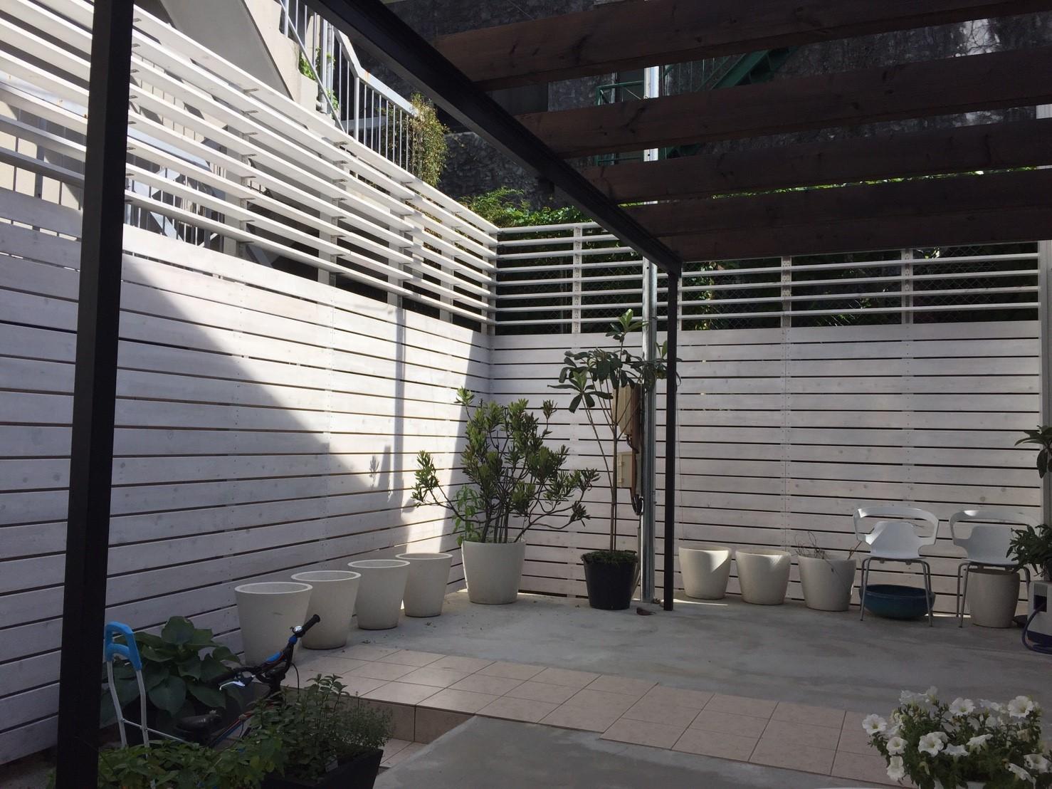 木塀フェンス(特注)